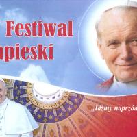 Fesiwal papieski-baner