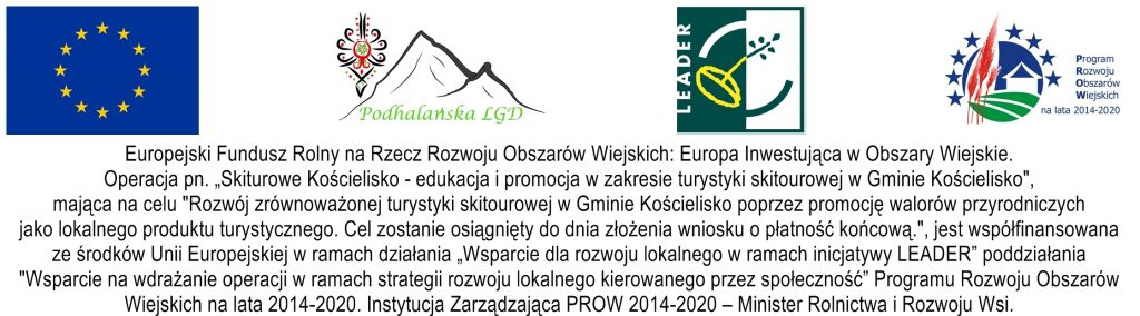 LOT Kościelisko-Skitourowe Kościelisko- tablica